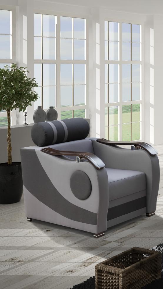 Elisse - Fotel Fotel na bonellach szerokość(cm): 90 wysokość(cm): 92 głębokość(cm): 90