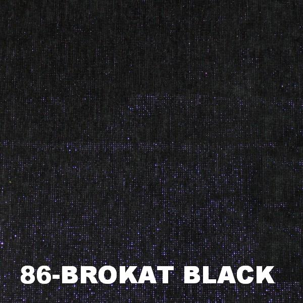 86 Brokat black